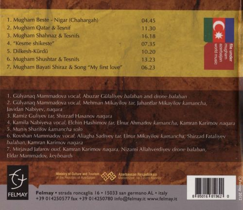 Caravan of Mugham Melodies: Traditional Music of Azerbaijan