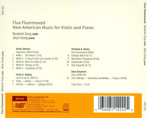Flux Flummoxed: New American Music for Violin and Piano
