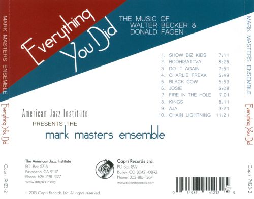 Everything You Did: The Music of Walter Becker and Donald Fagen