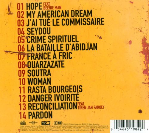 album alpha blondy mystic power