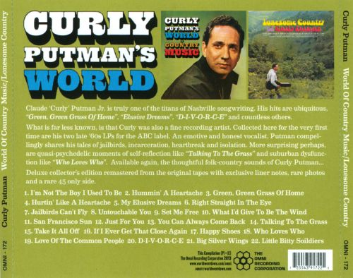 World of Country Music/Lonesome Country