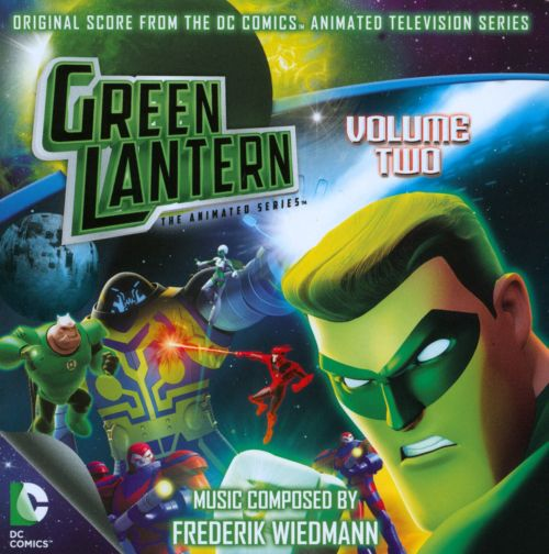 Green Lantern: The Animated Series, television series score