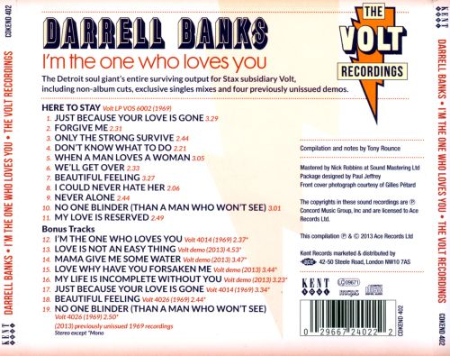 I'm the One Who Loves You: The Complete Volt Recordings