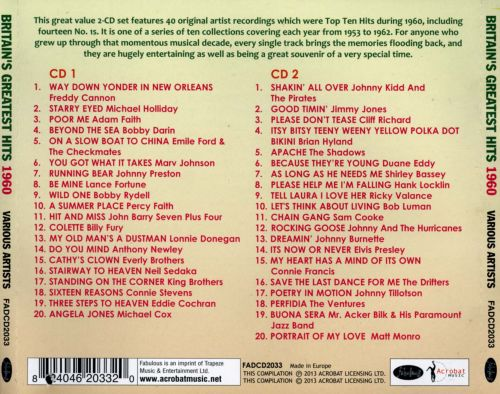 Britain's Greatest Hits 1960