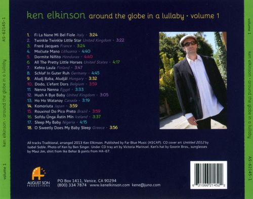 Around the Globe In a Lullaby, Vol. 1