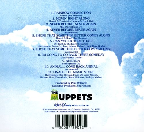 the muppet movie original motion picture soundtrack