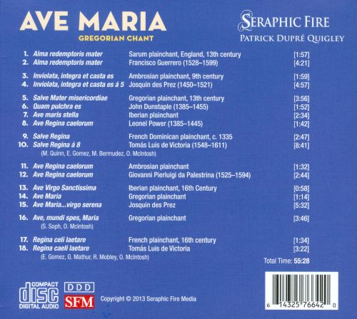 Ave Maria: Gregorian Chant