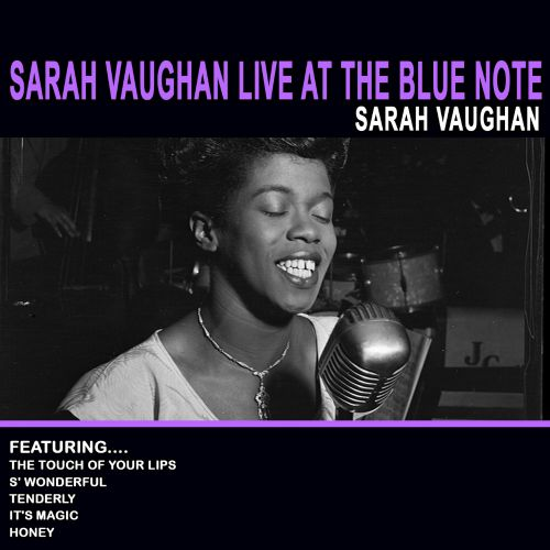 Sarah Vaughan at the Blue Note