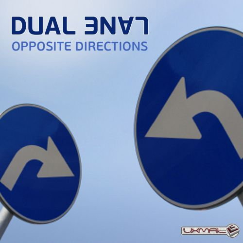 Opposite Directions