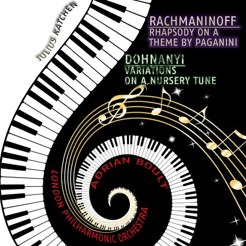 Rachmaninoff: Rhapsody on a Theme by Paganini; Dohnanyi: Variations on a Nursery Tune