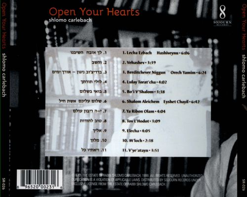 Open Your Hearts: Music Made From the Soul