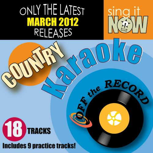 March 2012 Country Hits Karaoke