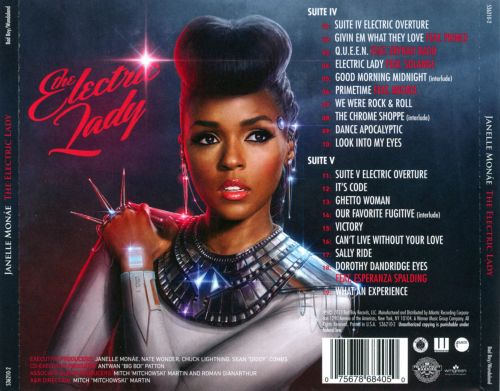 The Electric Lady - Janelle Monáe | Songs, Reviews ...  The Electric La...