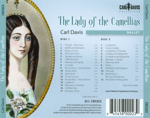 Carl Davis: The Lady of the Camellias