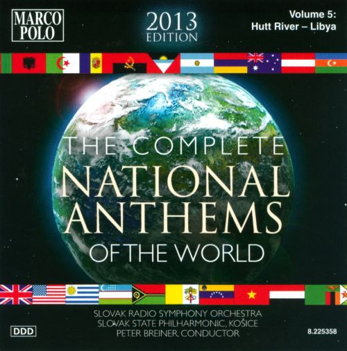 Complete National Anthems of the World (2013 Edition), Vol. 5