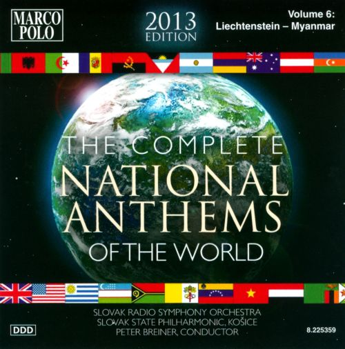 Complete National Anthems of the World (2013 Edition), Vol. 6