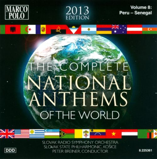 Complete National Anthems of the World (2013 Edition), Vol. 8