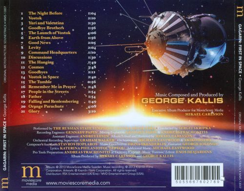 Gagarin: First in Space [Original Motion Picture Soundtrack]
