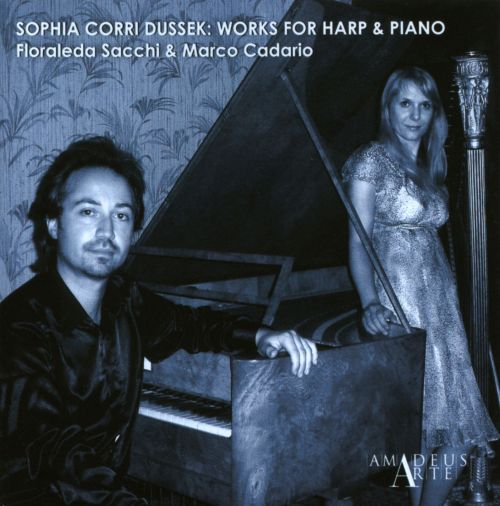 Sophia Corri Dussek: Works for Harp & Piano