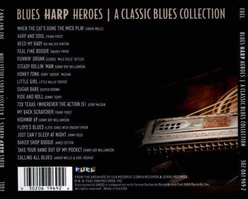 Blues Harp Heroes: A Classic Blues Collection