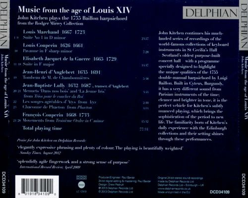 Music from the Age of Louis XIV