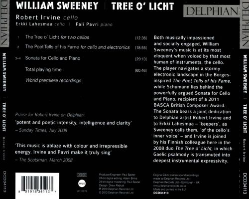 William Sweeney: Tree o' Licht