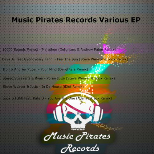 Music Pirates Records Various EP
