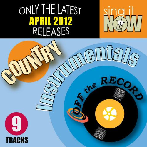April 2012 Country Hits Instrumentals