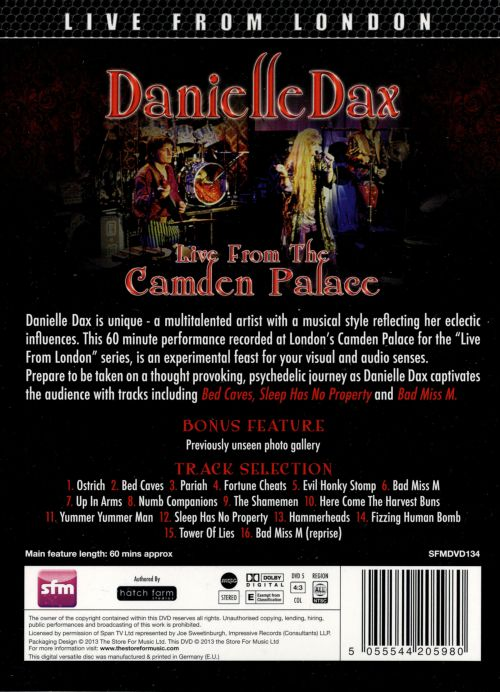 Live From the Camden Palace