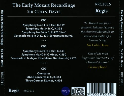 The Early Mozart Recordings
