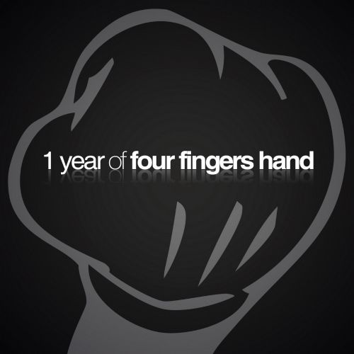 One Year of Four Fingers Hand