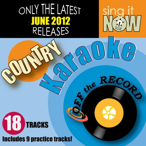 June 2012 Country Hits Karaoke