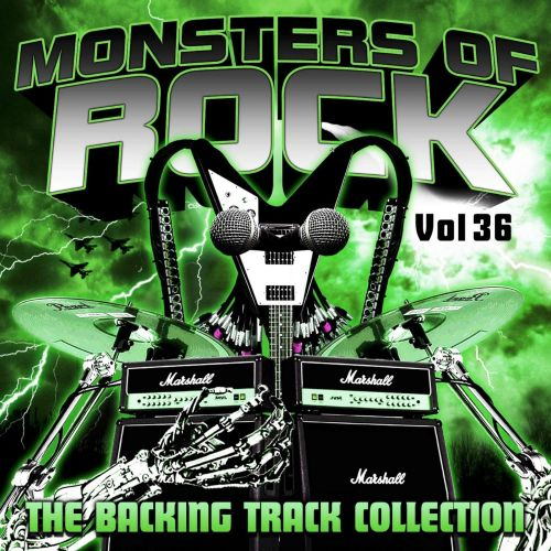 Monsters of Rock: The Backing Track Collection, Vol. 36