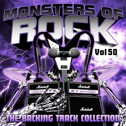 Monsters of Rock: The Backing Track Collection, Vol. 50