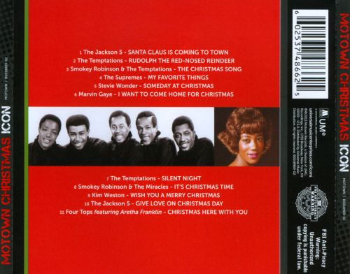 Icon: Motown Christmas - Various Artists | Songs, Reviews, Credits ...