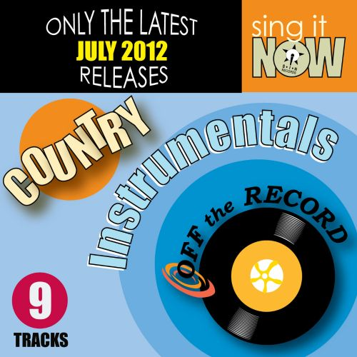 July 2012 Country Hits Instrumentals
