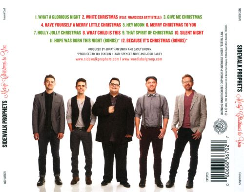 Merry Christmas to You - Sidewalk Prophets | Songs, Reviews ...