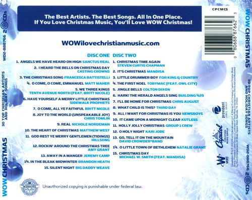 wow christmas 30 top christian artists and holiday songs - Best Christian Christmas Songs