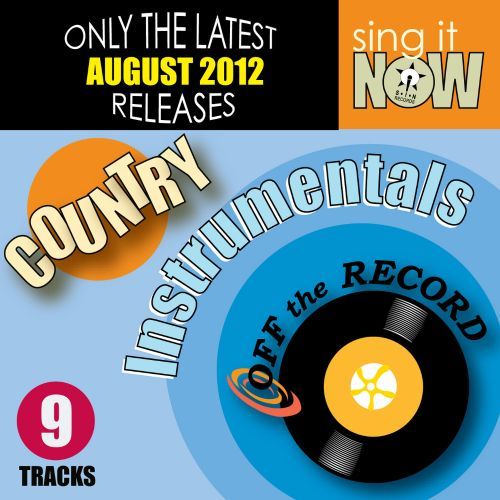 August 2012 Country Hits Instrumentals