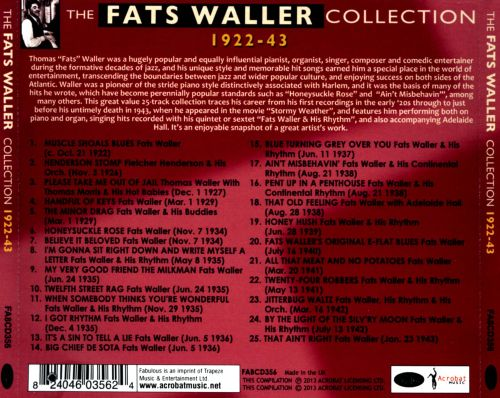 The Fats Waller Collection: 1922-1943