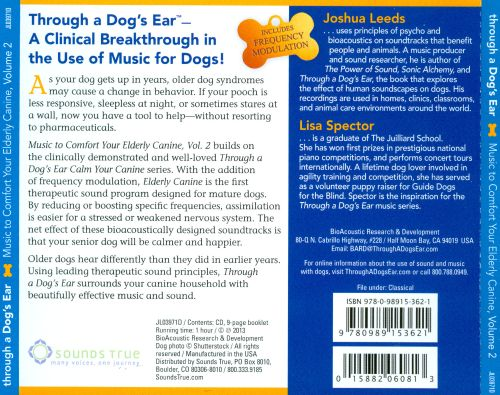 Through a Dog's Ear: Music to Comfort Your Elderly Canine, Vol. 2