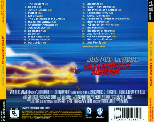 Justice League: The Flashpoint Paradox [Original Soundtrack]