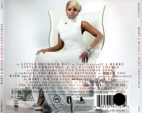 A Mary Christmas - Mary J. Blige | Songs, Reviews, Credits | AllMusic