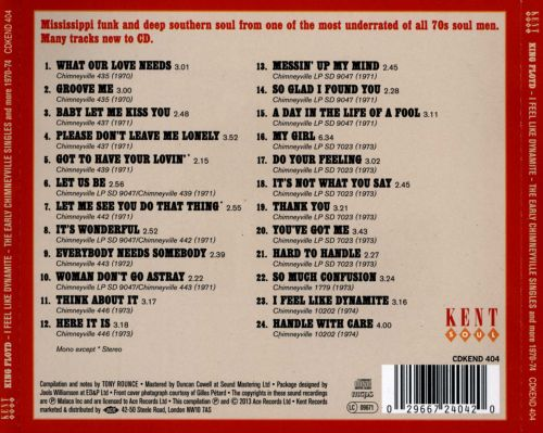 I Feel Like Dynamite: The Early Chimneyville Singles and More 1970-74