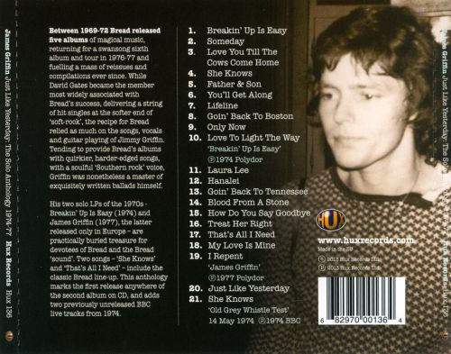 Just Like Yesterday: The Solo Anthology 1974-1977