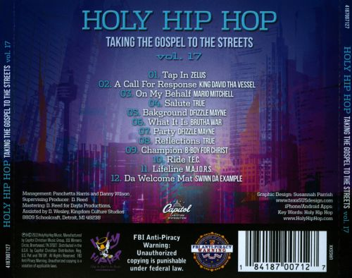 Holy Hip Hop, Vol. 17: Taking the Gospel to the Streets