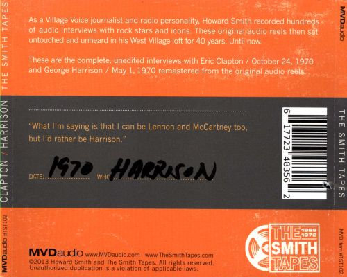 The Smith Tapes: Clapton/Harrison