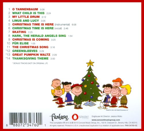 Charlie Brown Christmas Soundtrack.The Real Reason You Love A Charlie Brown Christmas Image 0