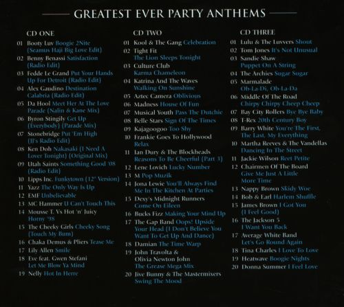 Greatest Ever! Party Anthems