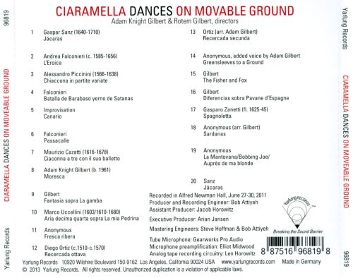 Ciaramella Dances: On Movable Ground